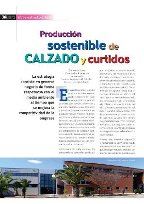 Interview at Revista del Cuero Colombia
